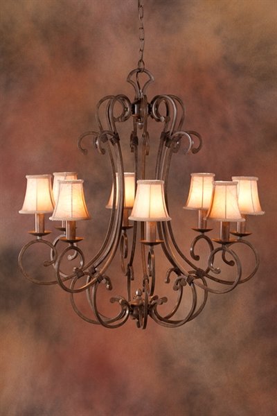 french provincial lighting. picture of french provincial pendant 8 lt do5047p8shade mda lighting t