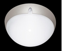 Picture of Small Round Double Insulated Exterior Polycarbonate Ceiling Light (VL-137000, VL-137001, VL-137002) Domus Lighting
