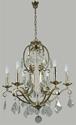 Picture of Angelique 6 Light Crystal Chandelier (Angelique/6Lt) Lighting Inspirations