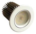 Picture of Shadowline Fixed 14W Dimmable Warm White LED Downlight Kit (MLSD3012) Martec