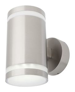Picture of Carrara 2 Light LED Exterior Up/Down Wall Light (MXD1912LED) Mercator Lighting