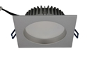 Picture of High Power 13W Dimmable LED Fixed Square Downlight (AT9021) Atom Lighting