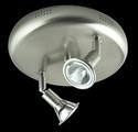 Picture of Faretto 2 Light Round Plate Low Voltage Spotlight (LV-4003/2R) Domus Lighting