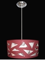 Picture of Aldo 3 Light 55CM Round Drum Pendant V & M Imports