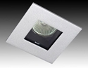Picture of Square Glass Downlight 12V IP44 (G774) Gentech Lighting