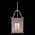 Picture of Charles Bevelled Glass 3 Light Large Square Lantern (HLL-GB) Robert Kitto