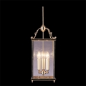 Picture of Charles Bevelled Glass 3 Light Long Narrow Lantern (HLB-GB) Robert Kitto