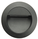 Picture of Round Black 240V Exterior Recessed Step Light (CLA3936) CLA Lighting