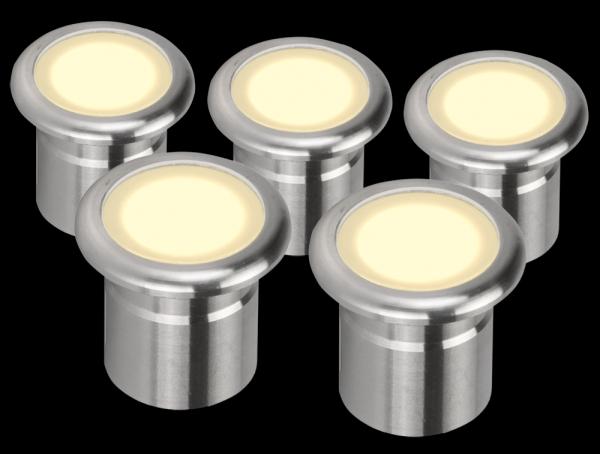 Northern lighting online shop lighting outdoor lighting light picture of vivid led deck lights five pack 21101 21102 domus lighting mozeypictures Images