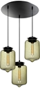 Picture of London 3 Light Glass Pendant (0171-Italux) V & M Imports