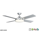 Picture of Razor Slim Profile Ceiling Fan With 28W Dimmable White LED (MRF1345) Martec Lighting