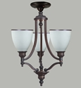 Picture of Arizona 3 Light Flush Pendant (Arizona/F/3Lt) Lighting Inspirations