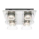 Picture of Haiger 4 Light LED Close To Ceiling (HAIG4CTC) Cougar Lighting