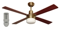 Picture of Fourseasons Alpha 1200MM Ceiling Fan With Clipper Light and Remote Martec