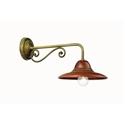 Picture of LA TINAIA Exterior Brass Copper Wall Light (224.04.OR) IL Fanale