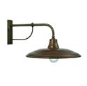 Picture of LA TINAIA Exterior Iron Copper Wall Light (224.14.OR) IL Fanale