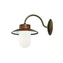 Picture of CALMAGGIORE Exterior Brass Copper Wall Light (231.03.ORB_T) IL Fanale
