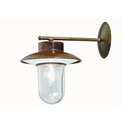 Picture of CALMAGGIORE Exterior Brass Copper Wall Light (232.04.ORB_T) IL Fanale