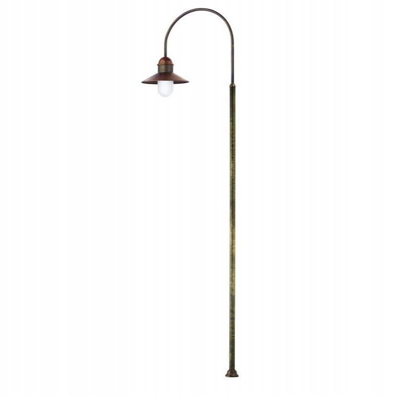 Northern lighting online shop lighting outdoor lighting light picture of il borgo exterior brass copper post light 24440orbt il fanale aloadofball Image collections