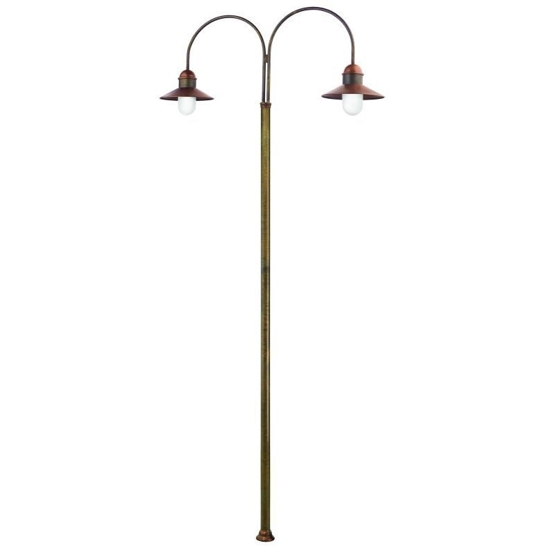 Northern lighting online shop lighting outdoor lighting light picture of il borgo exterior brass copper post light 24442orbt il fanale aloadofball Image collections