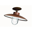 Picture of CALMAGGIORE Exterior Brass Copper Ceiling Light (236.06.ORB_T) IL Fanale