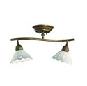 Picture of FIORI DI PIZZO Brass Ceramic Ceiling Light (065.22.OC) IL Fanale