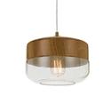 Picture of Bruno 1 Light Pendant (Bruno PE25-CL/OK) Telbix