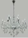 Picture of Venice 12 (8+4) Light Crystal Chandelier (Venice/PD/12Lt) Lighting Inspirations