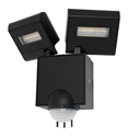 Picture of Cheetah 2 Light LED Floodlight with Sensor (MX78012/SEN) Mercator Lighting
