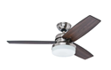 "Picture of Galileo 48"" (122cm) Ceiling Fan with Light  Hunter Fan"