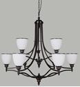 Picture of Arizona 9 Light Pendant (Arizona/PD/9Lt) Lighting Inspirations