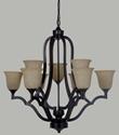 Picture of Boston 9 Light Pendant (Boston/PD/9Lt) Lighting Inspirations
