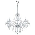 Picture of Basilano 8 Light Chandelier (39101) Eglo Lighting