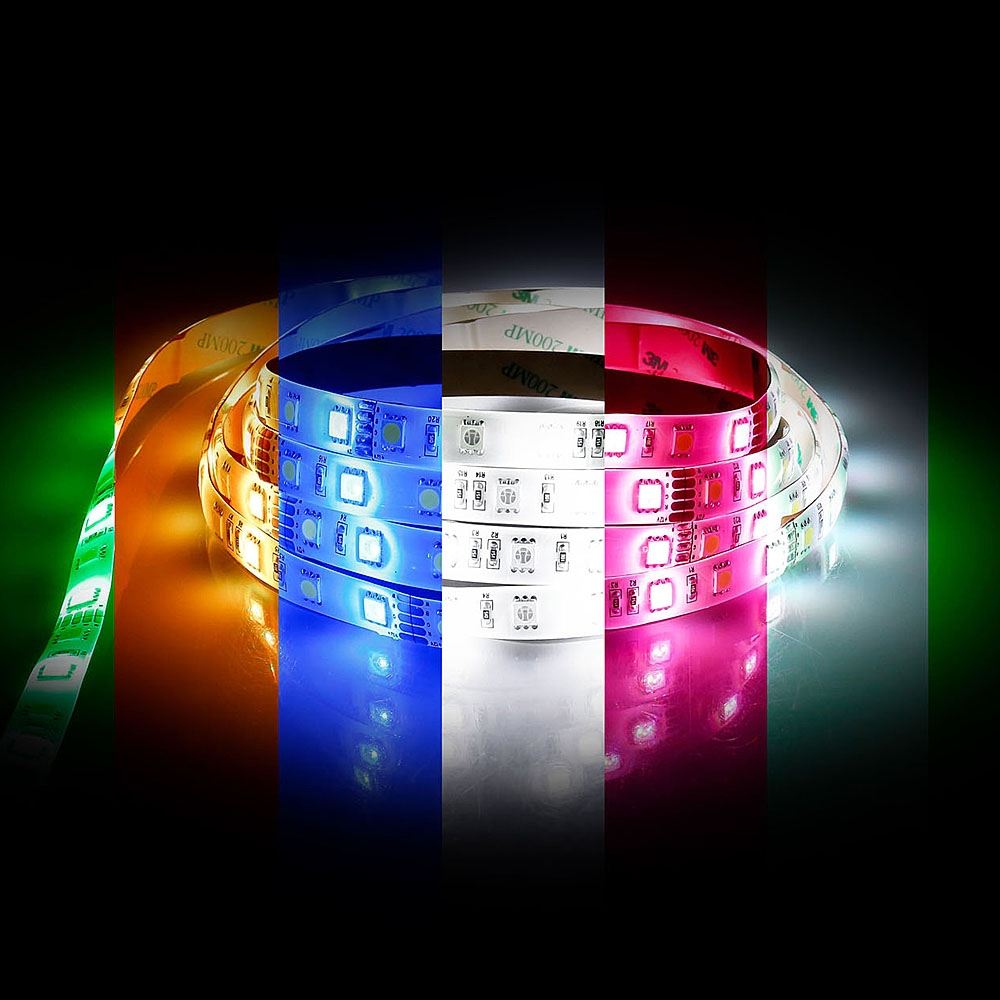 Northern lighting online shop lighting outdoor lighting light picture of indoor ip20 144w multi colour rgb led strip hv9751 ip20 parisarafo Image collections