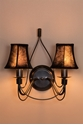 Picture of Traditional French Candelabra Wall Bracket (DO2191/2WB/SHADE) MDA Lighting
