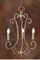 Picture of French Provincial Pendant 3 LT (DO5047/P3) MDA Lighting