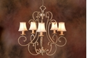 Picture of French Provincial Pendant 5 LT (DO5047/P5/SHADE) MDA Lighting