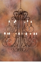 Picture of French Provincial Pendant 18 LT (DO5047/P18) MDA Lighting