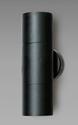 Picture of Bondi Exterior Black Up/Down Wall Pillar Light - 240V (SE7122/GU10 BK) Sunny Lighting