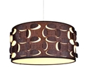 Picture of Buko 2 Lights Woven Fabric Pendant V & M