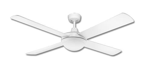 Northern lighting online shop lighting outdoor lighting light picture of lifestyle 1300mm white ceiling fan with 2 x e27 lights dls1344w martec aloadofball Choice Image