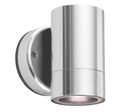 Picture of City Range Portico LED Exterior Single Fixed Wall Pillar Light (LS731LED) Lumascape