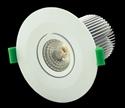 Picture of White Dimmable 10W LED Downlight Kit (DLK10-WHT 20496 20497) Domus Lighting