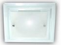 Picture of Double Glass 1 Light 30CM Square Oyster (AC1128/1/30) Ace Lighting