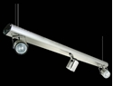Picture of Barrel 3 Light Wire Suspension Low Voltage Spotlight (LS-3705/3) Domus Lighting