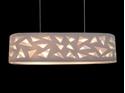 Picture of Aldo 4 Light Oval Drum Pendant V & M Imports