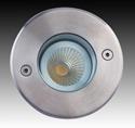 Picture of LED Adjustable Round Exterior Uplighter (F5067-RND-LED) Gentech Lighting