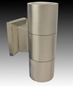 Picture of Turbo Exterior Stainless Steel Up/Down Spotlight (B-C035-UP-DOWN-SPOT-SS) Gentech Lighting