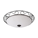 Picture of Lisban 1 Light 33CM Oyster (H6520/1) Hermosa Lighting