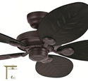 "Picture of Outdoor Elements II 54"" IP44 Ceiling Fan (Outdoor Elements II) Hunter Fan"